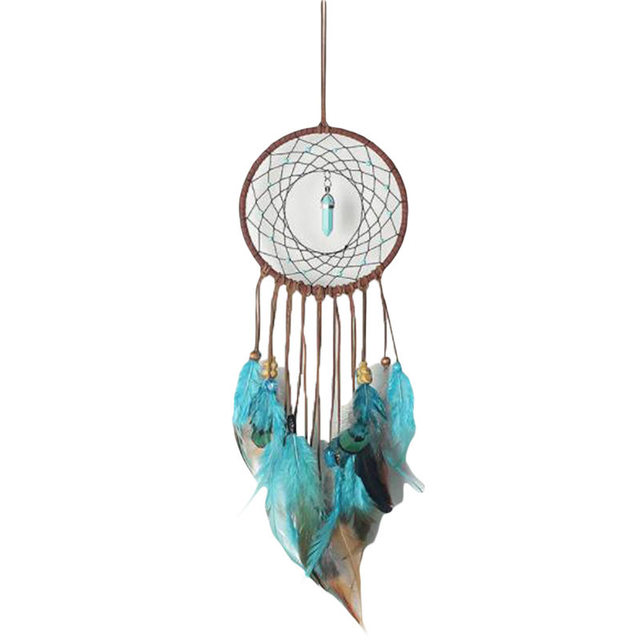 Deam Catcher Peacock Feather Wall Hanging Decoration Dreamcatcher