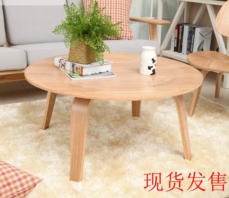 Ctw Eamois Bentwood Minimalis Ruang Tamu Sofa Meja Kopi Tatami Salon Cafe Kayu Bundar Di Dari Furniture Aliexpress Alibaba