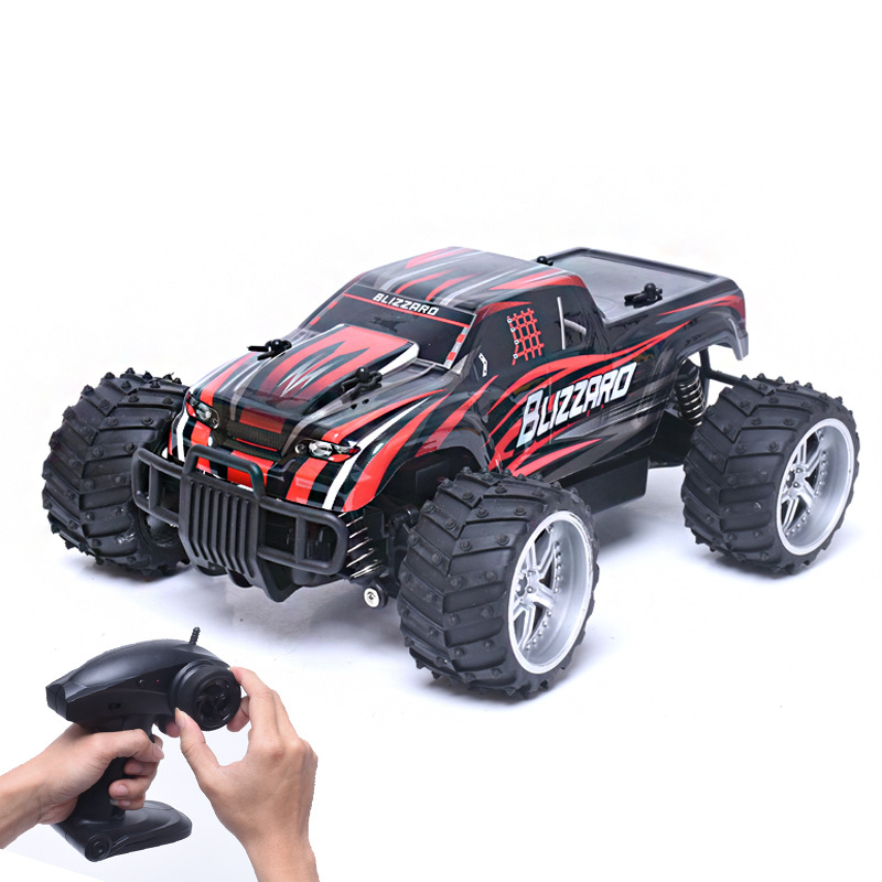 Bigfoot mini rc car drifting racing car 9504 1:16 20km/h 2.4G high speed remote control 4wd cross country off road car model toy high speed laser light swivel mini toy car