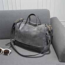 2017 New Women Bag designer handbags high quality Nubuck Leather Vintage Messenger Bag Motorcycle Crossbody Bags bolsas feminina