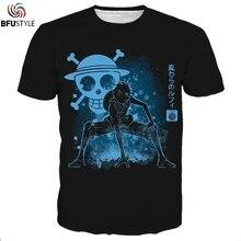 Одна деталь новая Луффи 3D футболка футболки для мужчин и женщин короткий рукав o-образным вырезом летние топы футболки Повседневная футболка