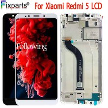 цена на 100% Tested 5.7 For Xiaomi Redmi 5 LCD Display Screen+ Touch Panel Digitize Assembly  Xiaomi Redmi 5 LCD Display Free Shipping