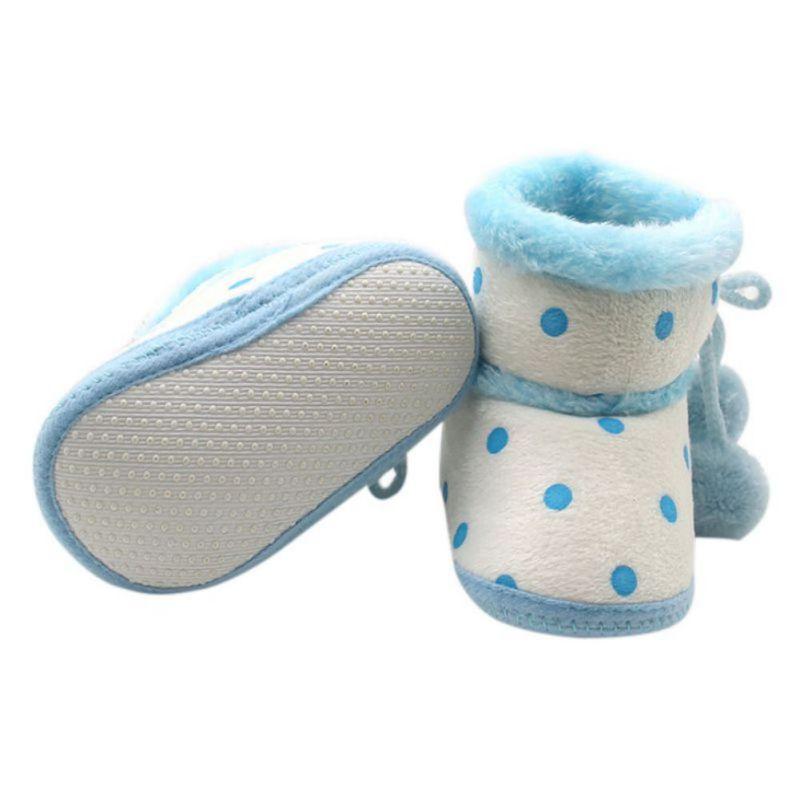 Babyschuhe Winterstiefel Weiche Unterseite Baby Mädchen Mokassin - Babyschuhe - Foto 5