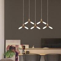Современные светодиодный Люстра Гостиная Подвесная лампа для спальни Подвесные светильники столовой висит освещения комната для бракосоч