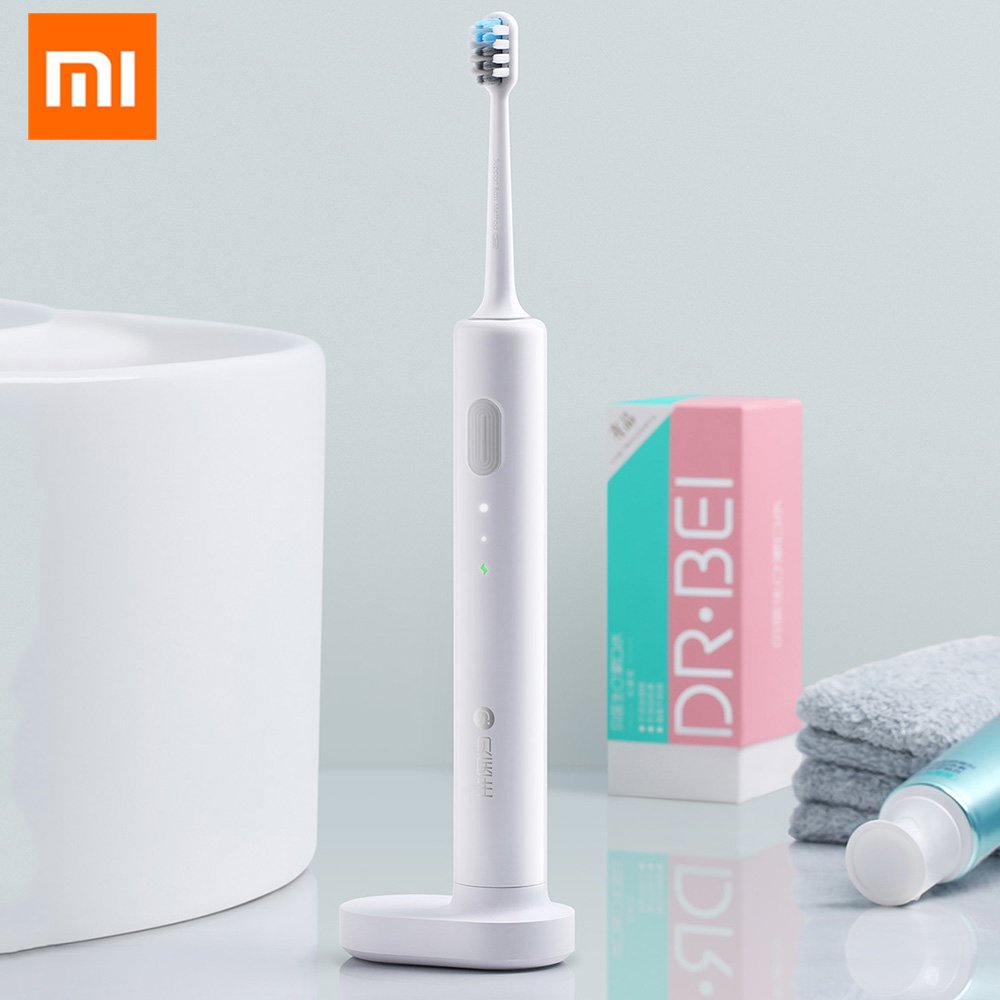 купить Xiaomi Mijia BET-C01 Waterproof Wireless Sonic Electric Toothbrush Portable Rechargeable Sonic Tooth Brush Ultrasonic Toothbrush недорого