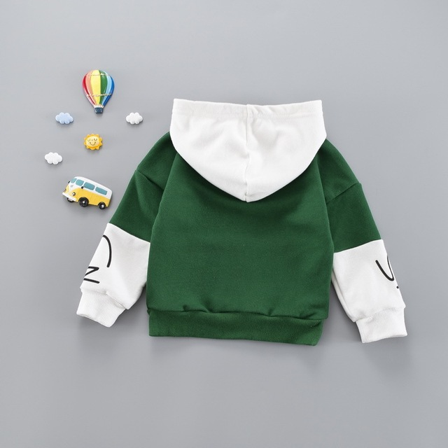 Sports Styled Cotton Hoodie for Boys