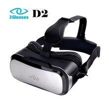 100%เดิม3แว่นตาD2 3DความจริงเสมือนVRชุดหูฟังPCรุ่น2พันกับจอสัมผัสFOV110 IPDปรับ3Dส่วนตัวโรงละคร