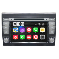 Two Din 7 Inch Car DVD Player For Fiat Bravo 2007 2008 2009 2010 2011 2012