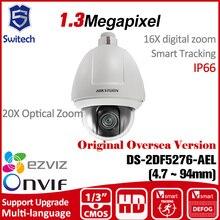 HIKVISION ip Camera PTZ DS-2DF5276-AEL original English Version CMOS 30X Optical Zoom tracking ONVIF uk RJ45 IP66 Cctv security