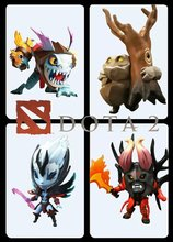 New 4pcs/Set Dota 2 Game Figure SLARK TINY Doom Boxed PVC Action Figures Collection dota2 Toys Models Hot Sale