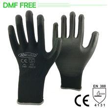 NMSAFETY PU рабочие перчатки с 13 калибром трикотажные защитные рабочие перчатки Guanteswork glovessafety work gloveswork safety gloves  АлиЭкспресс