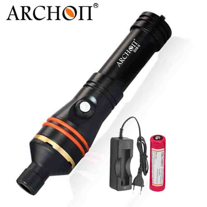 ARCHON D11V II W17V II d11v Diving Video Light 1200 LM 100M Underwater Lights L2 U2