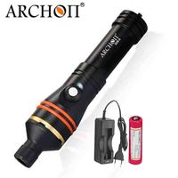ARCHON D11V II W17V II d11v Diving Video Light 1200 LM 100M Underwater Lights * L2 U2 LED Flashlight Photography Dive Torch