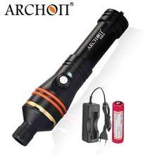 ARCHON D11V II W17V II d11v dalış Video ışığı 1200 LM 100M sualtı ışıkları * L2 U2 LED el feneri fotoğraf dalış meşale