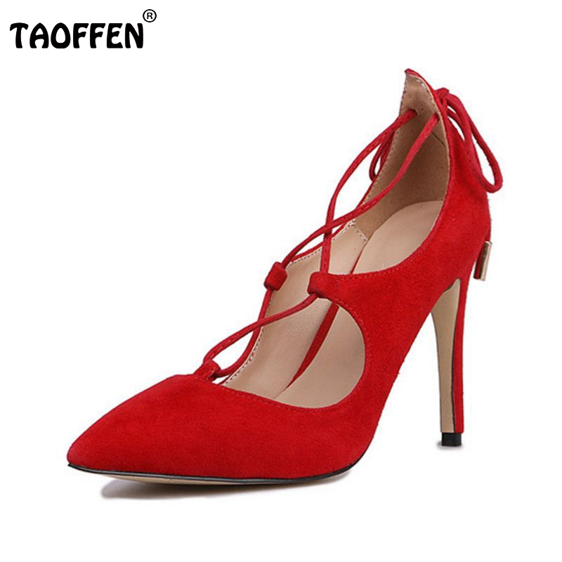 women real genuine leather pointed toe ankle strap high heel sandals brand sexy fashion footwear heeled shoes size 33-40 R08508 size 33 43 r08323 ladies pointed toe real genuine leather flat shoes women bowknot sexy spring fashion footwear brand shoes