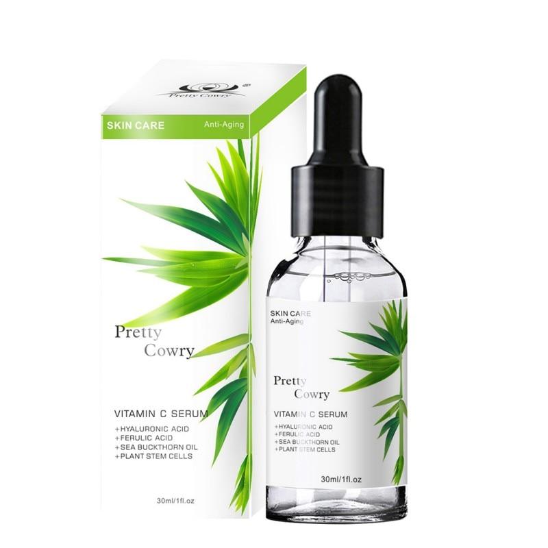 Hot 30ml Vitamin C Face Serum Anti-age Moisturizer Advanced Formula Hyaluronic Acid Reduces lines for orbital area