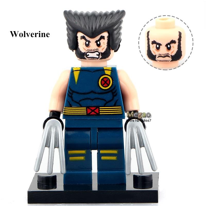 Model Building 50pcs/lot 0152 Two Face Wolverine Super Heroes Gifts Building Blocks X-men Model Best Children Toys Toys & Hobbies