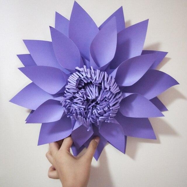 2017 Latest Style Handmade Giant Paper Flower For Wedding Backdrops ...