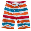 2017 New Designer Striped Quick Dry Mens Board Shorts Casual  Men Beach Shorts