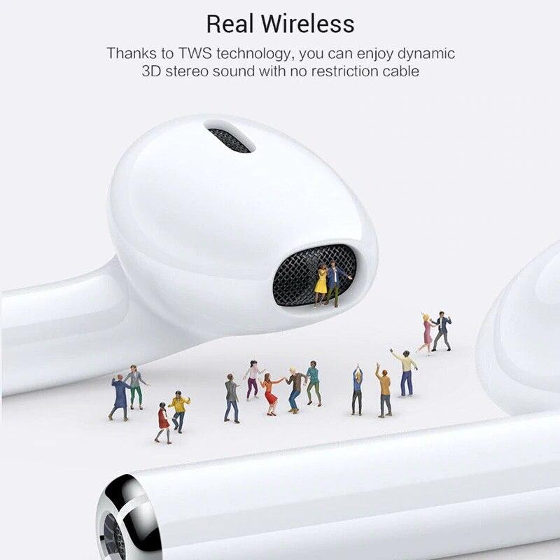 2019 New I12 Tws Bluetooth 5 0 Earphones Ture Wireless Earbuds Touch Control Headsets Headphones Audifonos Para Celular Elari in Phone Earphones Headphones from Consumer Electronics
