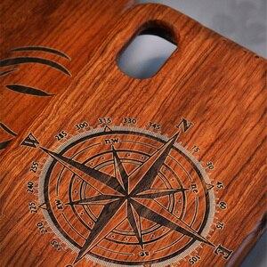 Image 3 - מגולף טייגר הדרקון יוקרה עץ טלפון מקרה עבור iPhone X XS Max XR 5 5S 6 6 בתוספת 6S 7 8 בתוספת iPhone se 2020 מלא עץ מקרה כיסוי