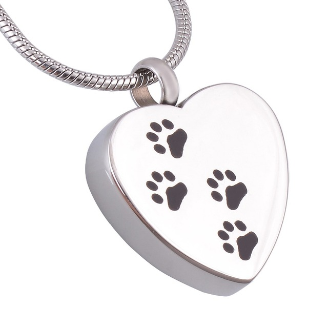 Pet cremation pendant necklace for memory dogs or cat stainless pet cremation pendant necklace for memory dogs or cat stainless steel cremation jewelry personalized aloadofball Choice Image