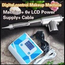 Tätowierungs-Augenbrauen-Lippenfeder-dauerhafte Verfassungs-Maschine 35000M mit LCD-Stromversorgung