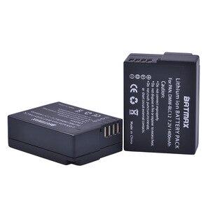 Image 3 - 2 шт. DMW BLC12 DMW BLC12E BLC12 Батарея + USB ЖК дисплей Зарядное устройство для цифрового фотоаппарата Panasonic Lumix DMC FZ200,FZ300,FZ1000,FZ2500,G5,G6,G7,GX8,G85