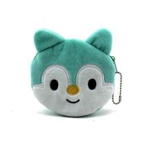 New 2016 Hot Sale Kawaii Cartoon Panda/ SquirrelChildren Plush Coin Purse Zip Change Purse Wallet Kids Girl Women For Gift