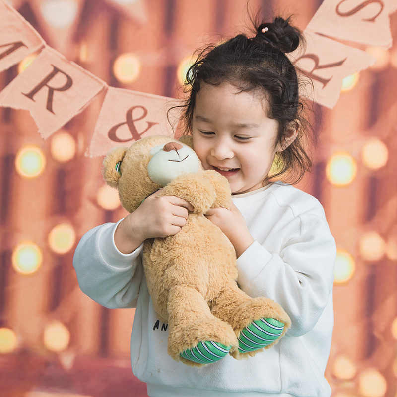 1 pc macio bebê urso 35 cm Presentes Peluches Stuffed Animal Brinquedos de Pelúcia Ursos de pelúcia Boneca de Pelúcia Macia para o Bebê crianças