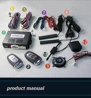 Хорошо использовать автосигнализации Системы ПКЕ на/выключение Дистанционное управление Пассивный Автозапуск и кнопка start/Stop удаленный Дв