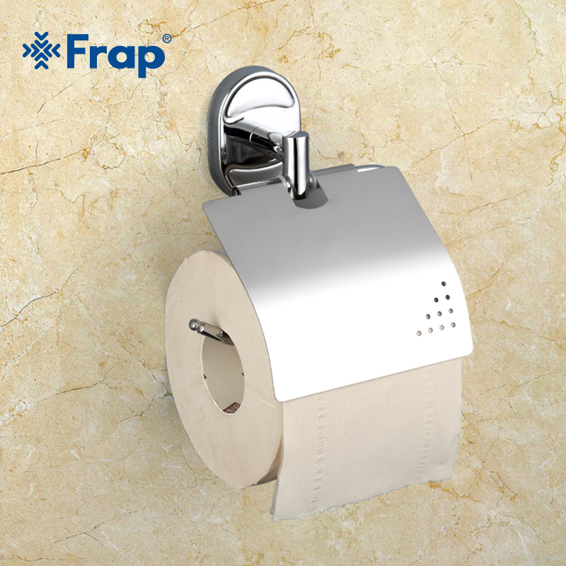Frap Stainless steel toilet Paper Holders Antique Finish Paper Holder Tissue Roll Holder Wall Mounted Bathroom Accessories F1903 everso wall mounted toilet paper holder with shelf stainless steel toilet roll paper holder tissue holder bathroom accessories