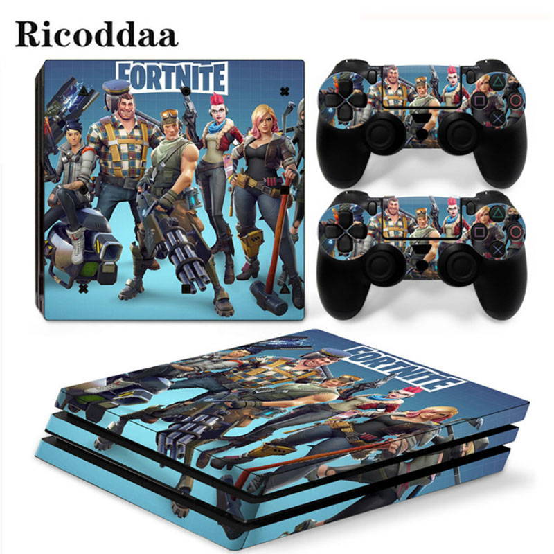 Customize Viny Decal For PS4 Pro Console + 2 Controller Skin Sticker For Sony Playstation 4 Pro Protective Game Decal thumbnail