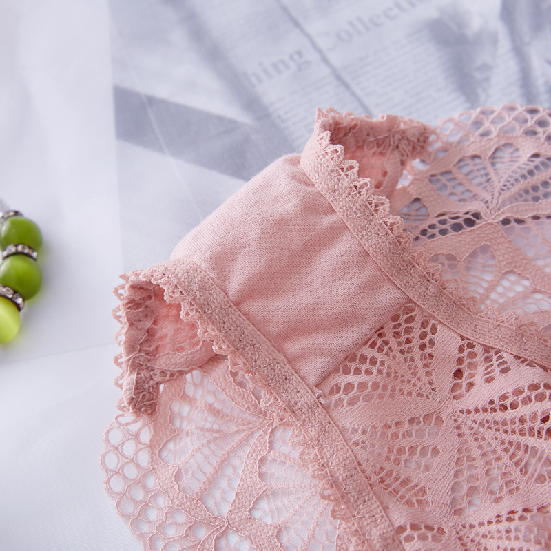 Panties women transparent underwear sexy hollow temptation lace T pants fashion high elastic waist low waist cotton pants briefs in women 39 s panties from Underwear amp Sleepwears