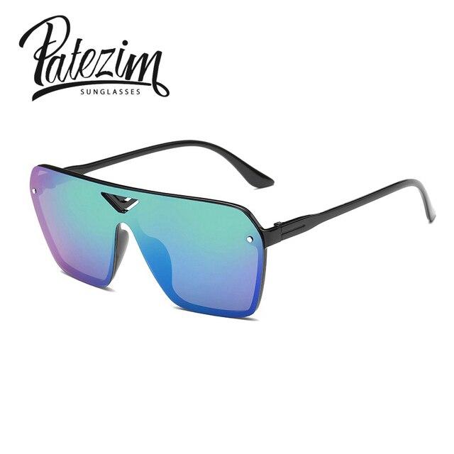 8690ab4d8b7b89 Novos óculos de Sol das Mulheres Lente de Óculos Sem Aro Projeto Conjugada  Estilo Verão Óculos