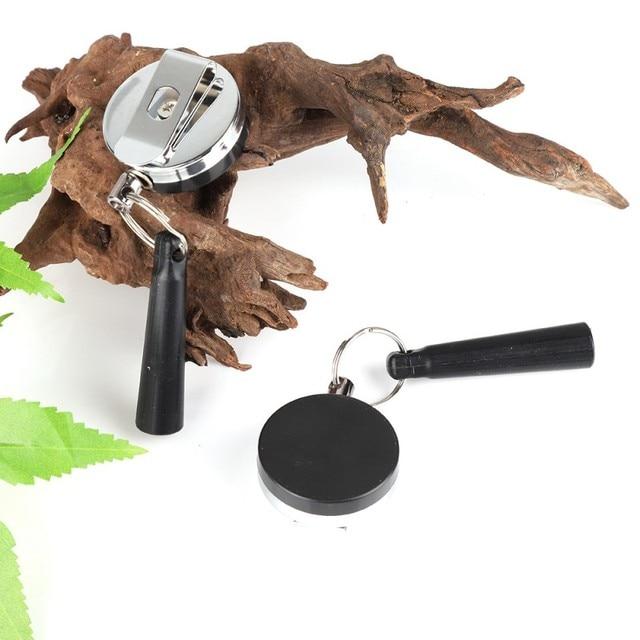 في الهواء الطلق الثقيلة قابل للسحب القلم سحب حامل بكرة Carpenter أقلام مكافحة خسر حبل مفتاح سلسلة حلقية مشبك حزام أدوات جديد