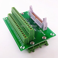 IDC34 2x17 Pins 0 1 Male Header Breakout Board Terminal Block Connector