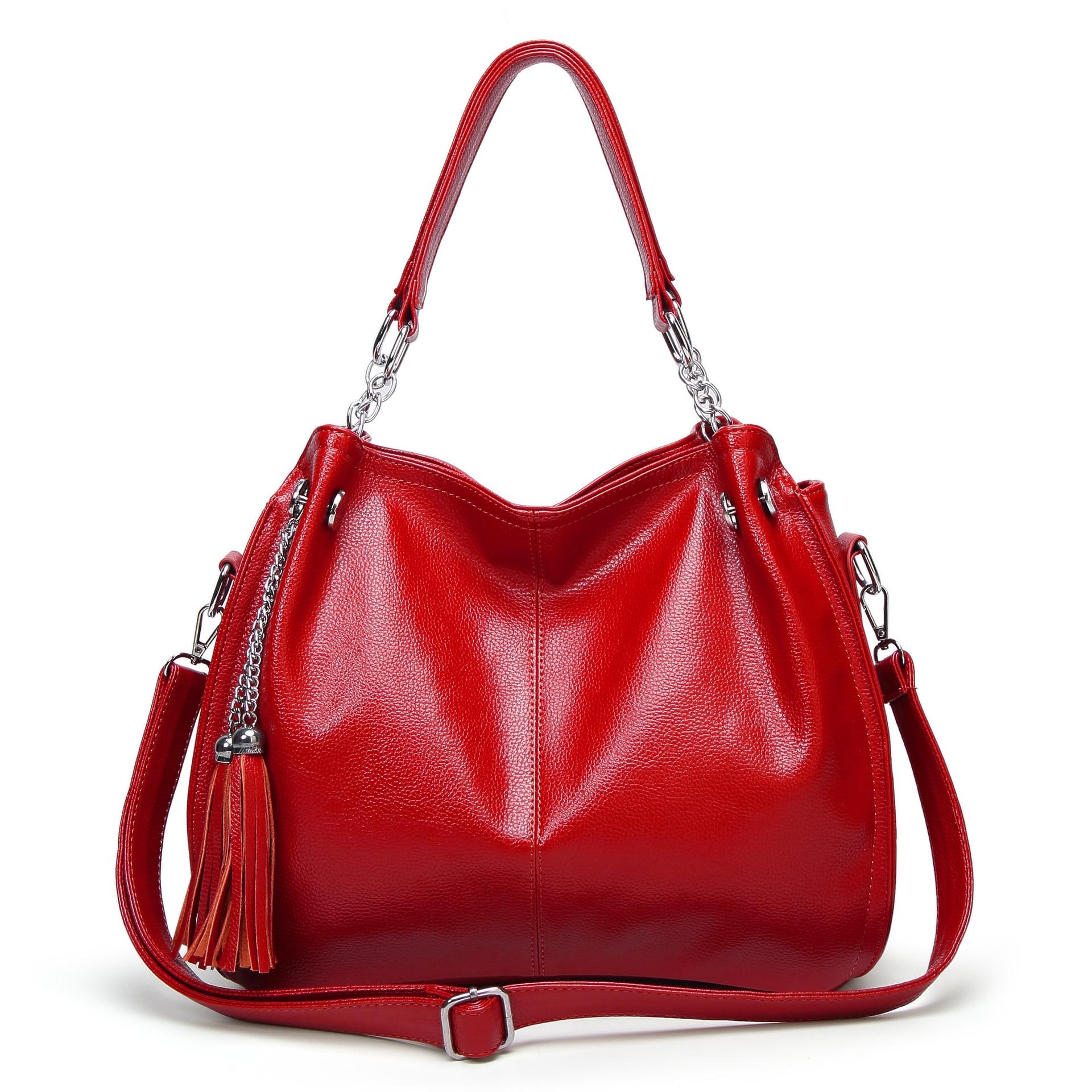 Tassel Women Handbags Design Ladies Shoulder Bags Pu Leather Female Girl Luxury Hobos Crossbody Bag