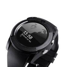 Colmi Bluetooth Smartclock VS24 IPS Runde Bildschirm Remote Controll Musik Anrufe SMS Für IOS Android Smartwatch PK dz09 Smartclock