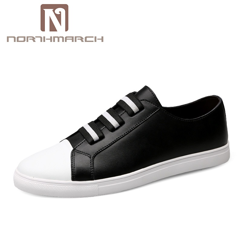 NORTHMARCH Men Shoes Fashion Men Casual Shoes Genuine Leather Male Shoes Luxury Brand Breathable Flats Shoes Moccasins Men