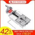 Bloque de deslizamiento Longitudinal de Metal de 118mm Z008M para Mini torno de alimentación de eje de alivio Y/Z
