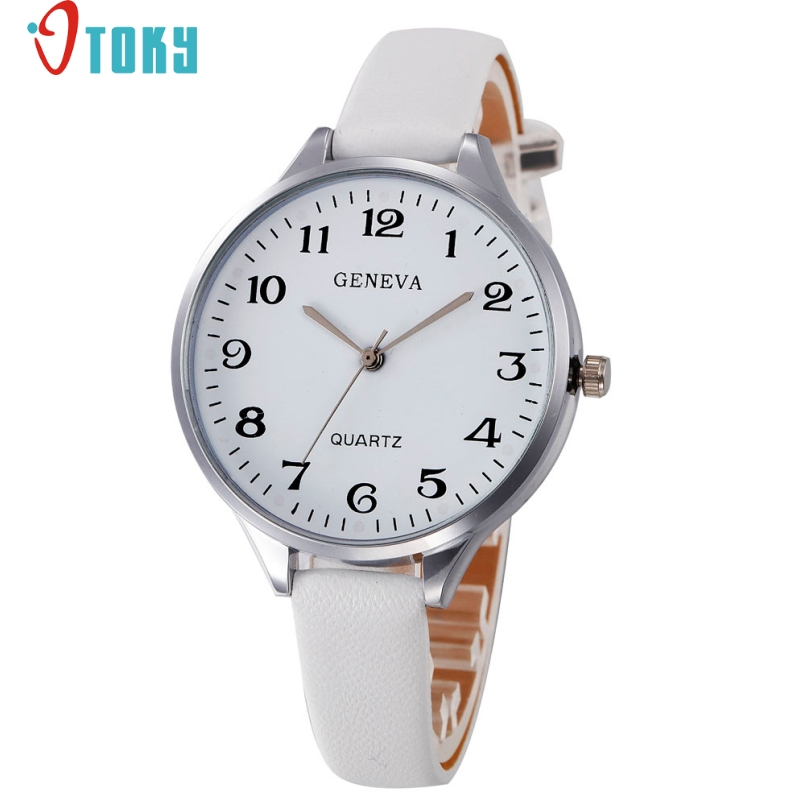 Splendid Watches Women Top Brand Luxury Watch Casual Leather Strap Korean Crystal Rivet Bracelet Clock Girls Ladies Relogio Gift