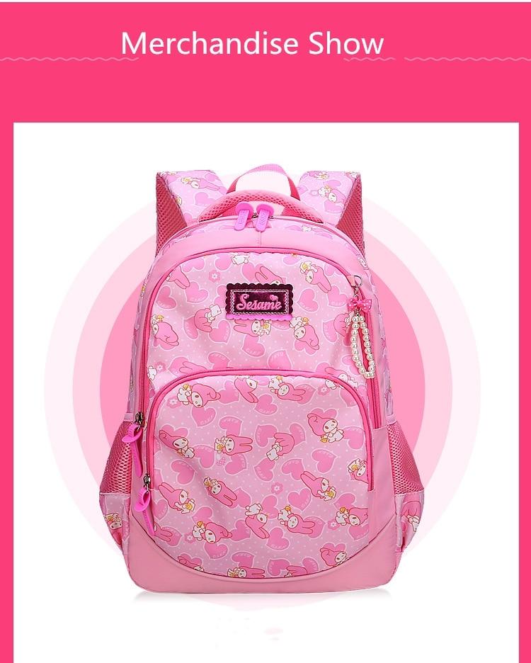 meninas princesa escola mochilas crianças impressão mochilas ortopédico mochila