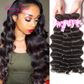 Brazilian Loose Deep Wave Tissage Bresilienne lots 4 Bundles Brazilain Virgin Hair Ocean Wave Deep Wave Brazilian Cheap Bundles
