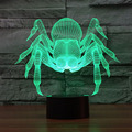 Cartoon Monster Spider 3D Lamp DECOR Creative Night Light Colors Chaning Cool Lamp Christmas Atmosphere Light As Home Decoration