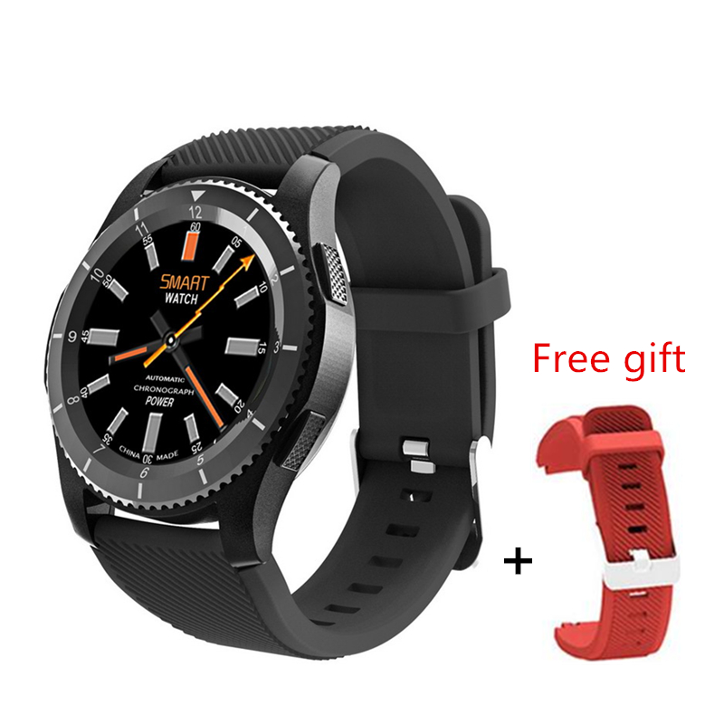 Original G8 Smartwatch Bluetooth 4.0 SIM Call Message Reminder Heart Rate Monitor Smart watch For Android Apple Xiaomi Samsung