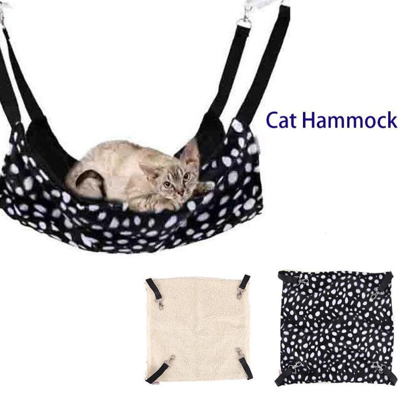 Cute Pet Lamb Fleece Canvas Rat Rabbit Chinchilla/cat Cage Hammock Small Pet Dog Puppy Bed Cover Bag Blankets High Quality Goods Cat Supplies