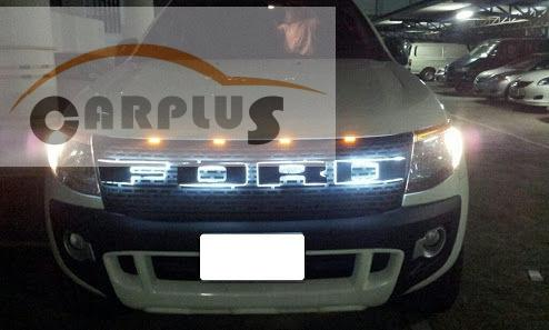 2012 For Ford Ranger Led Grills Abs Black Front Grill Suitable Ford