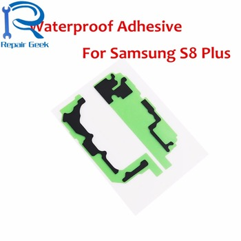 50pcs/Lot New Replacement For Samsung Galaxy S8+ Plus G955Waterproof Adhesive Tape Glue Sticker For Samsung S8Plus Repair Parts