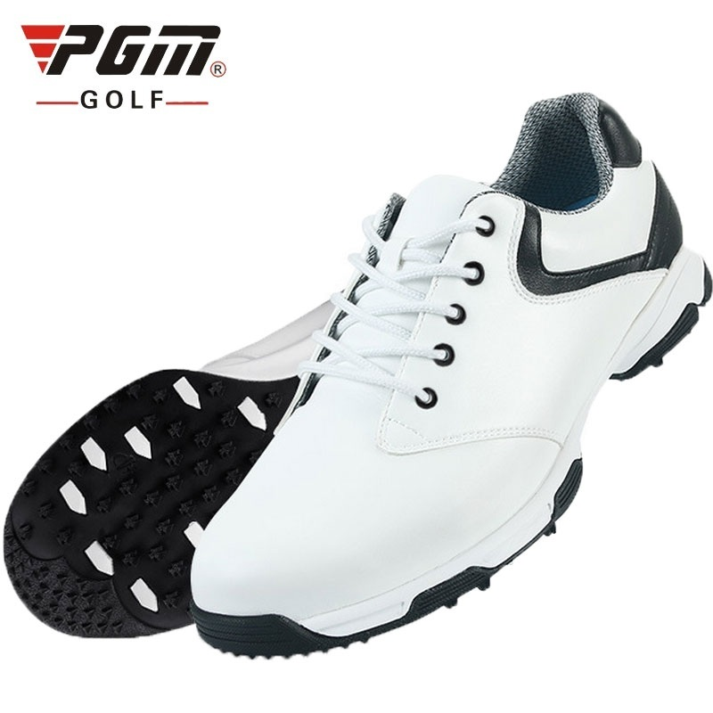 Pgm Mens Waterproof Golf Shoes Breathable Lace Up Outdoor Sport Shoes Anti-Skid  Spikes Comfortable Golf Sneakers AA10092Pgm Mens Waterproof Golf Shoes Breathable Lace Up Outdoor Sport Shoes Anti-Skid  Spikes Comfortable Golf Sneakers AA10092
